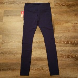 Pure Barre Layla Tights Legging Navy Blue M NWT